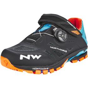 Northwave Spider Plus 2 Schuhe Herren black/green/orange